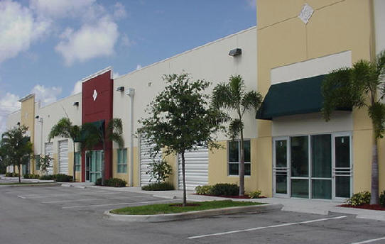 Main offices and Factory of GWR Products Co. in South Florida